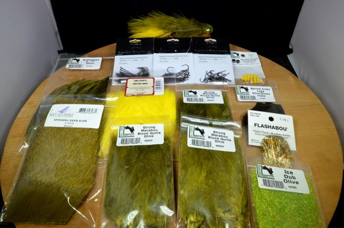 triple sex dungeon tying kit olive yellow