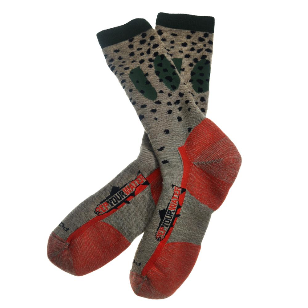 rep your water trout socks cutthroat