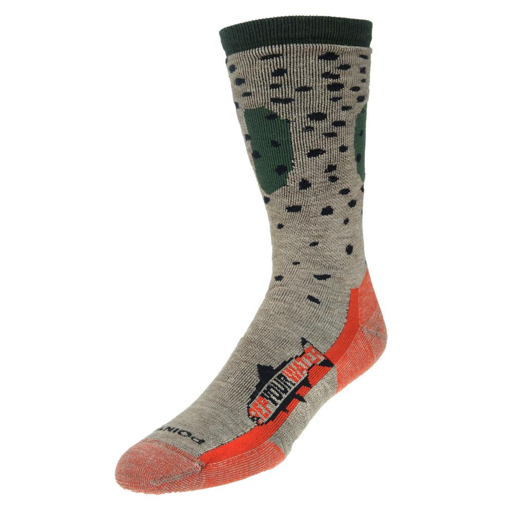 rep your water trout socks cutthroat single