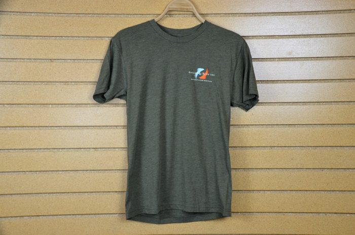 slide inn put my junk in your box t shirt olive heather