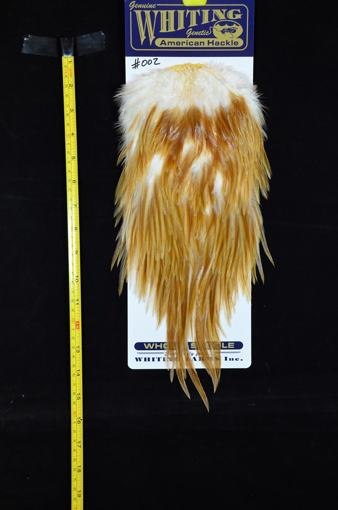 whiting american rooster saddle natural variants medium ginger 002