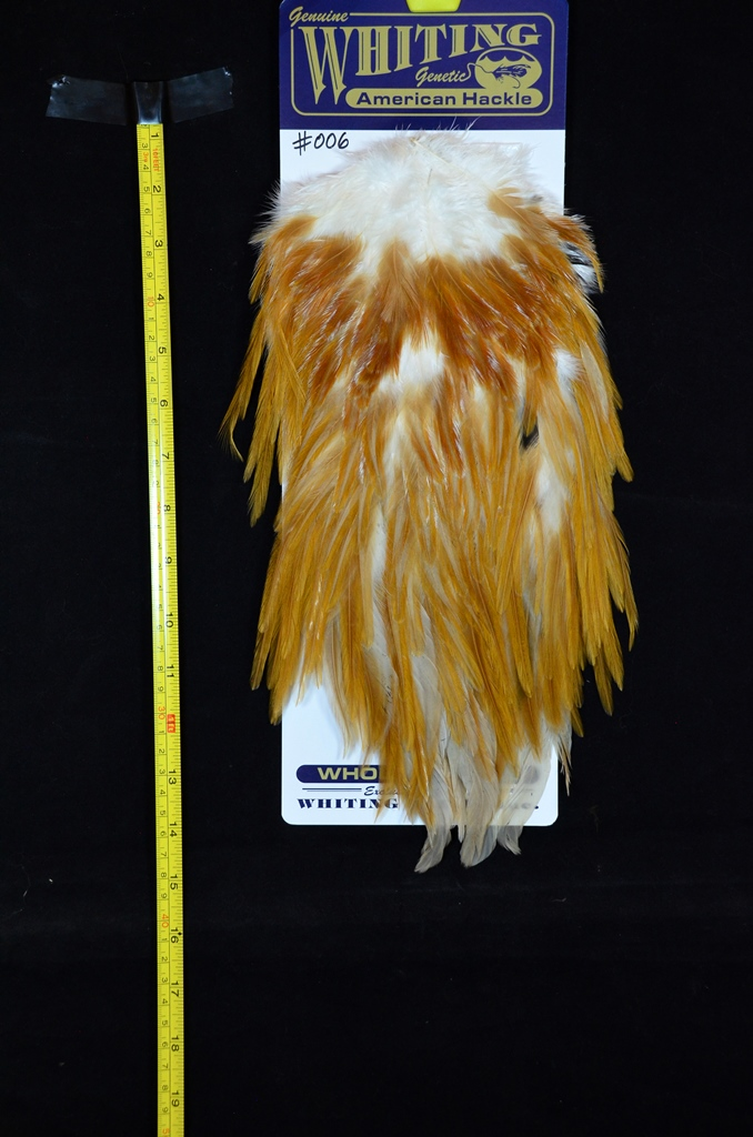 whiting american rooster saddle natural variants medium ginger 006
