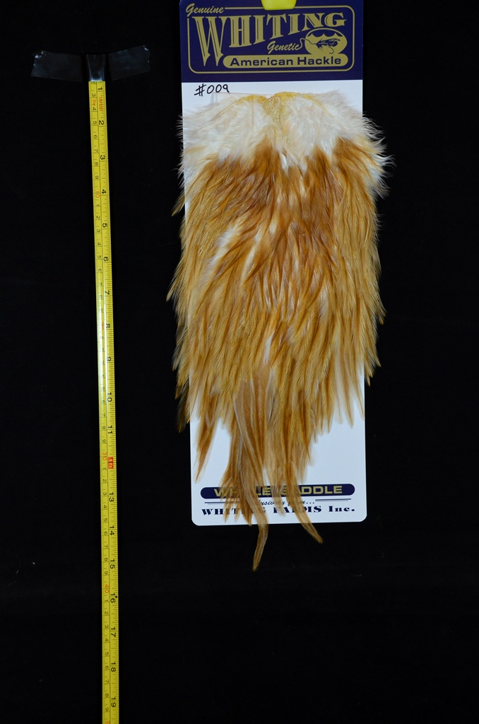 whiting american rooster saddle natural variants medium ginger 009