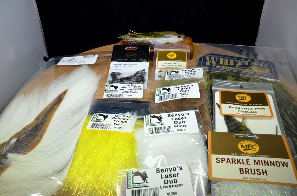 belly bumper tying kit olive white 1 american