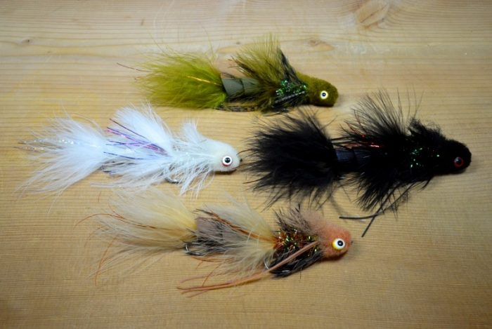 wooly tips up tying kit
