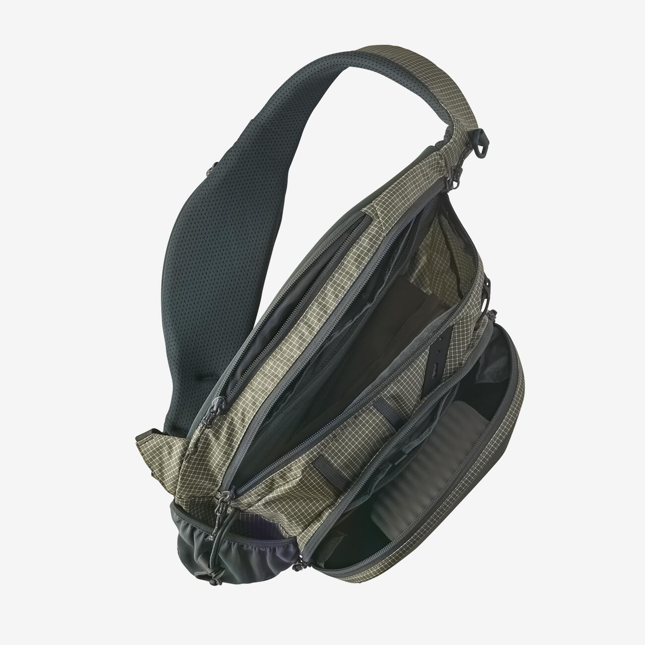 patagonia stealth atom sling open