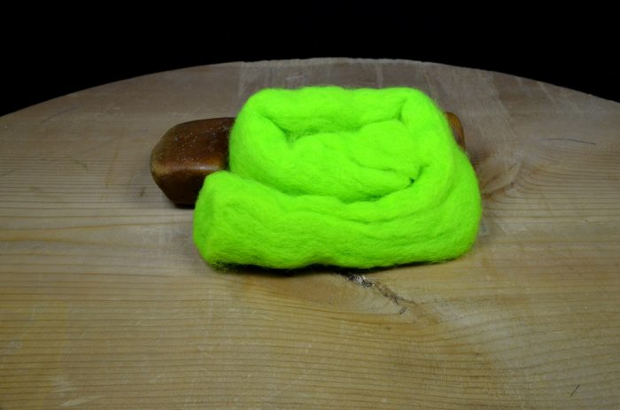 sculpin wool chartreuse