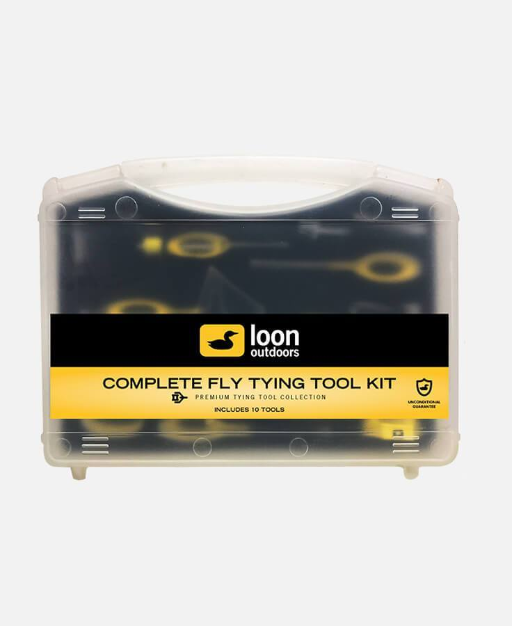 loon complete fly tying tool kit all
