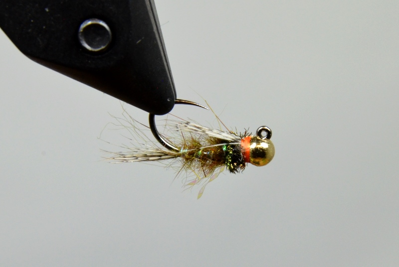 galloup's hares ear jig olive