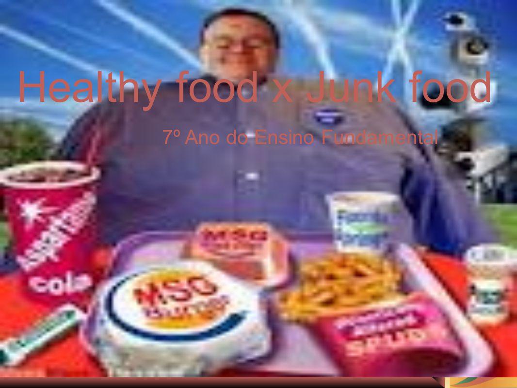 Healthy Food X Junk Food