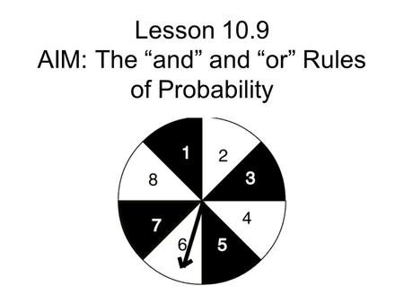S1 Probability Sample space diagrams and tree diagrams