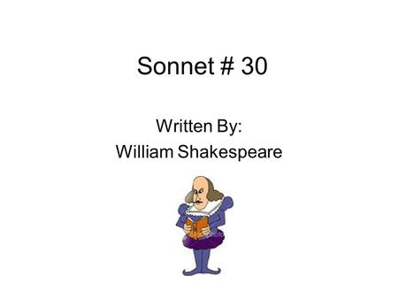 "Sonnet 30 from Amoretti by Edmund Spenser Amoretti ""little"