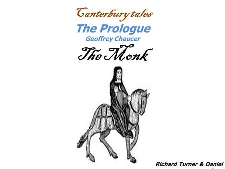 Canterbury Tales: The Prologue Here bygynneth the Book of