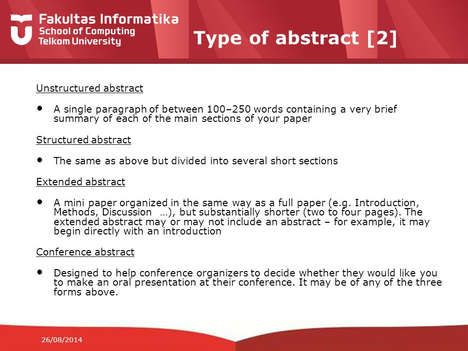 Aim Of This Slide To Review Academic Writing Structure Part I