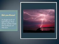 Static Electricity and Lightning - ppt video online download