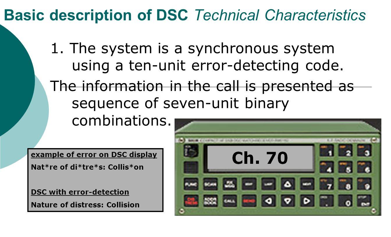 Digital Selective Calling Dsc