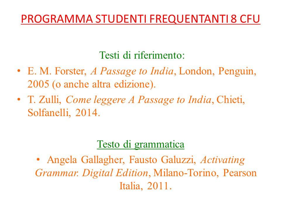 Lingua Cultura e Istituzioni dei Paesi di Lingua Inglese