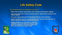NFPA 101 Life Safety Code Means of Egress Presented By