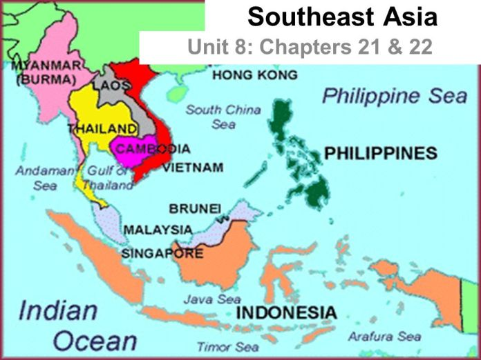 Southeast Asia Unit 8 Chapters 21 22 Physical Geography 21 1 1 Mainland Countries Myanmar Thailand Cambodia Vietnam Laos Laos Is Landlocked Ppt Download
