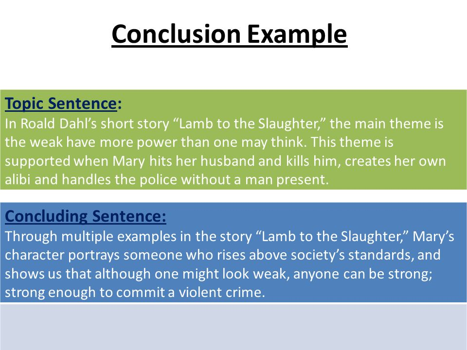 strong conclusion paragraph examples