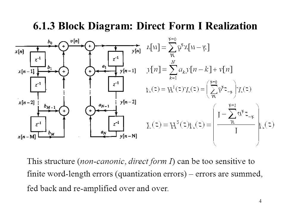 block diagram to signal flow graph network software open source chapter 6. digital filter structures and designs section - ppt video online download