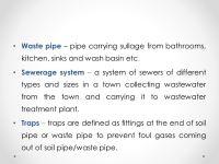 House Drainage System By- Prajyoti P. Upganlawar - ppt ...