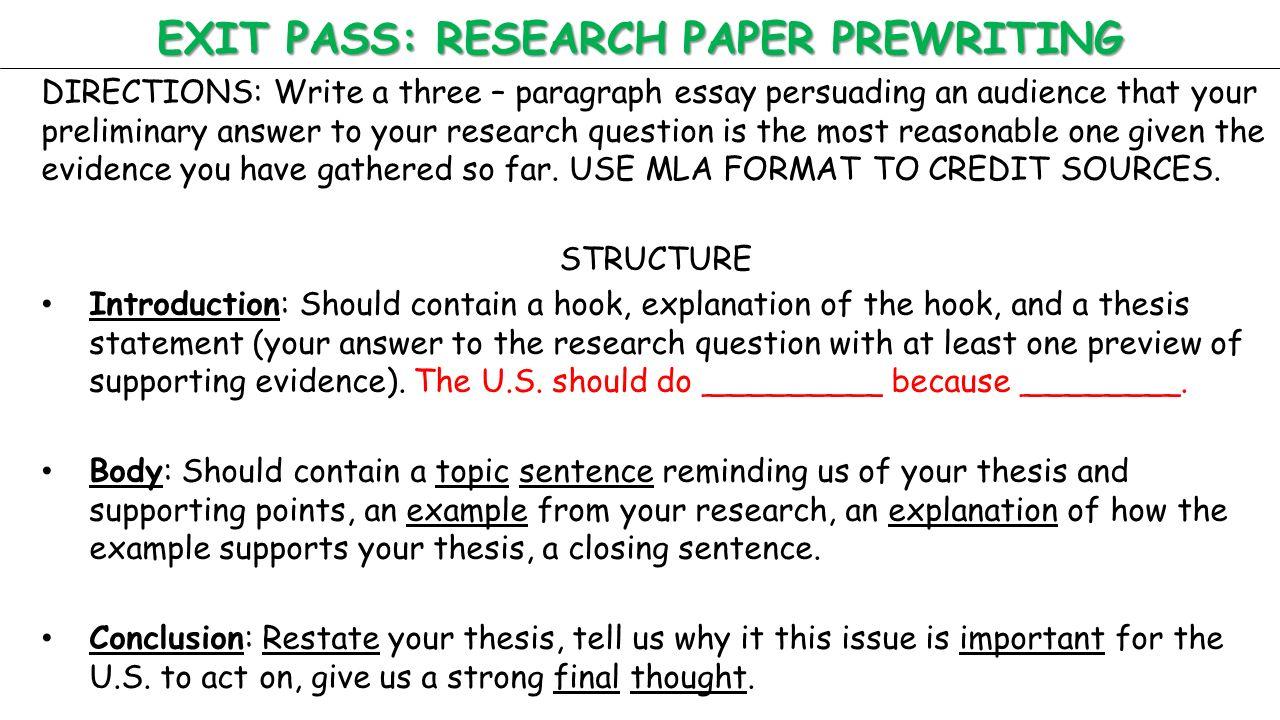 Research Paper Video Essay Service