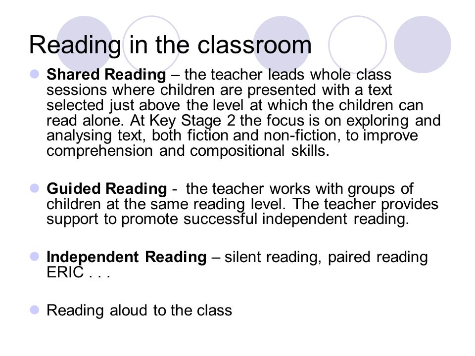 What is reading? Reading is much more than the decoding