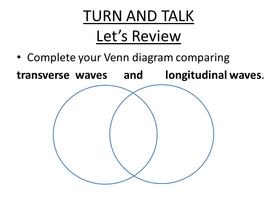 venn diagram of transverse and longitudinal waves ipf wiring waves. - ppt video online download