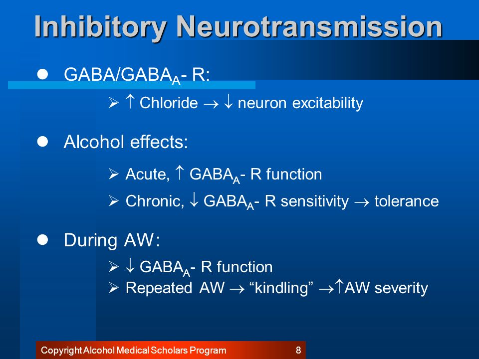 Gaba Receptor And Calcium