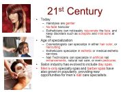 history of cosmetology - ppt video