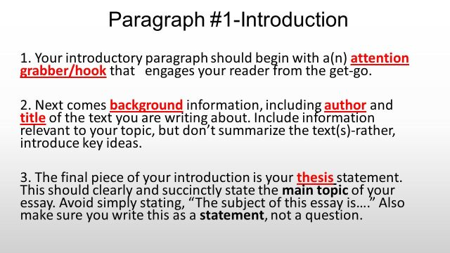 Paragraph #29-Introduction - ppt download
