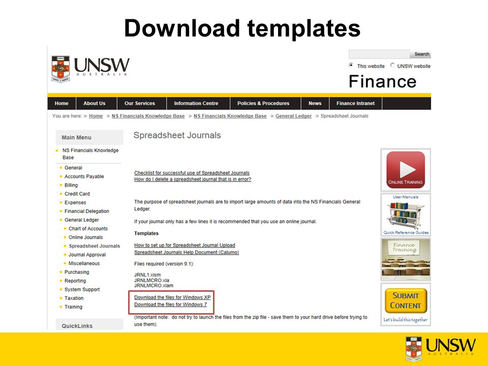 Finance Business Solutions – User Support & Training - ppt download