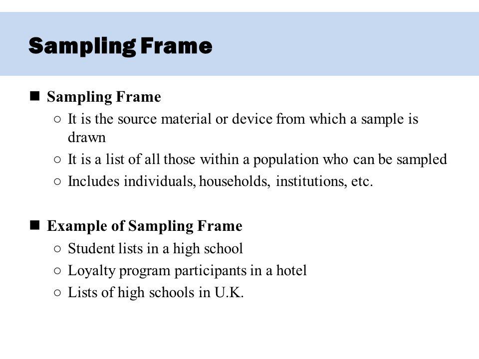 sample frame example | pixels1st.com