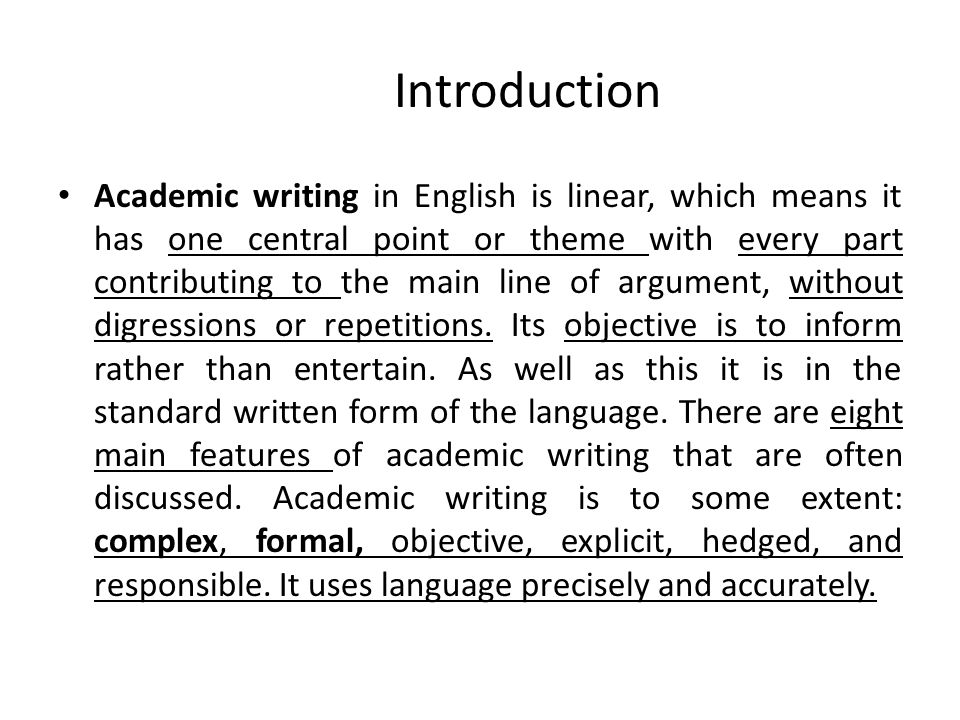 Complexity  Formality as Features of Academic Writing  ppt video online download