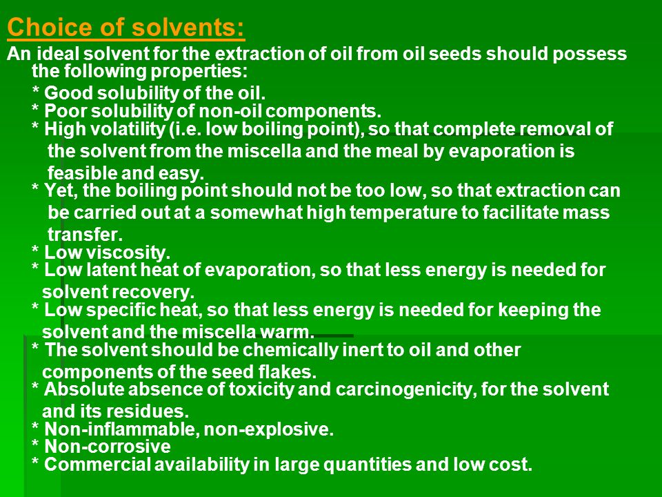OIL AND FAT TECHNOLOGY LECTURES III Crude Oil Production  ppt video online download