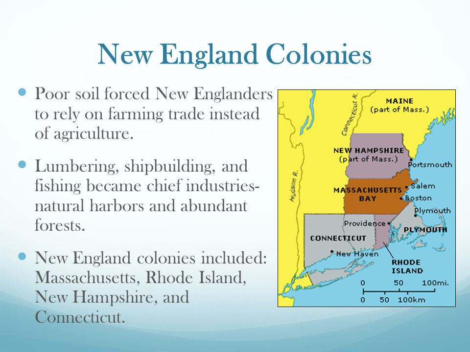 Colonial Regions New England Colonies = Religious Freedom Ppt