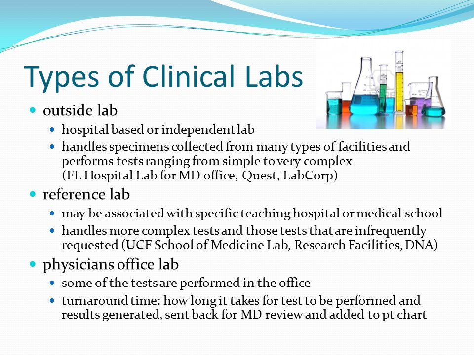Chapter 44 The Clinical Laboratory  ppt video online download
