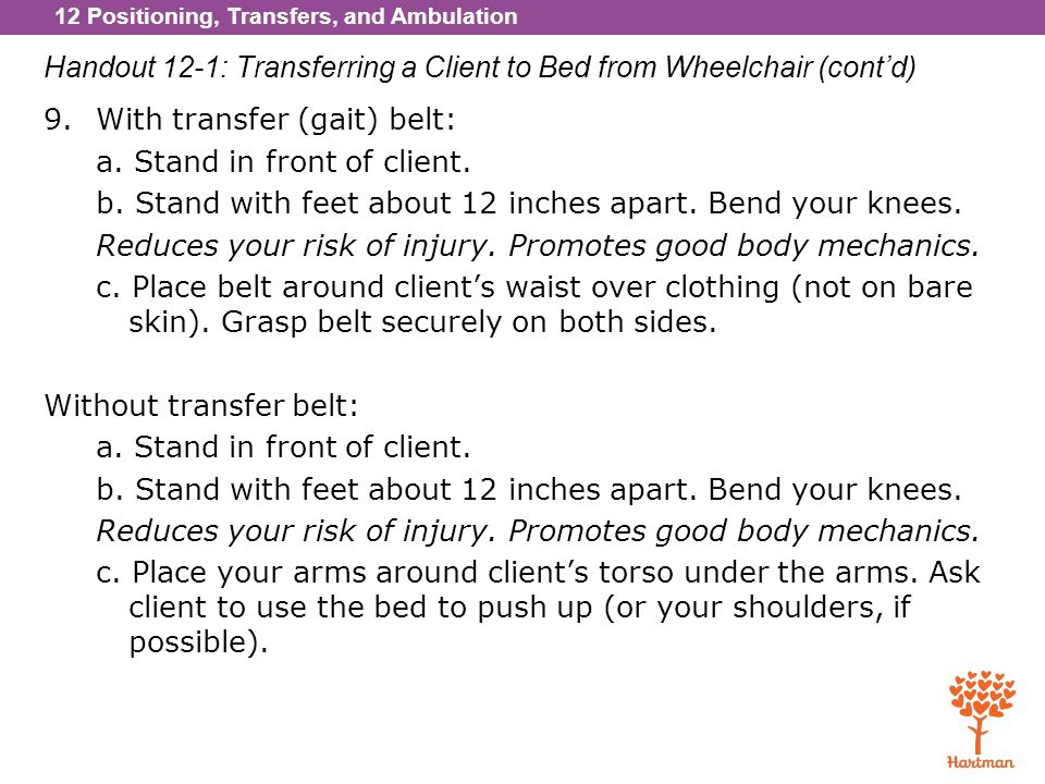 chair bed with arms ergonomic pros 1. explain positioning and describe how to safely position clients - ppt download