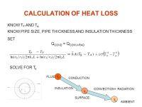 Heat Loss In Pipe - Acpfoto