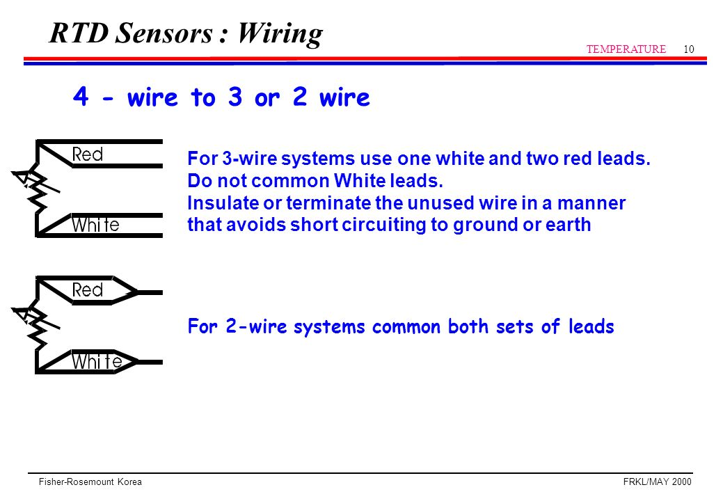 Rtd Wiring Diagram 3 Wire on 3 wire rtd lead balance