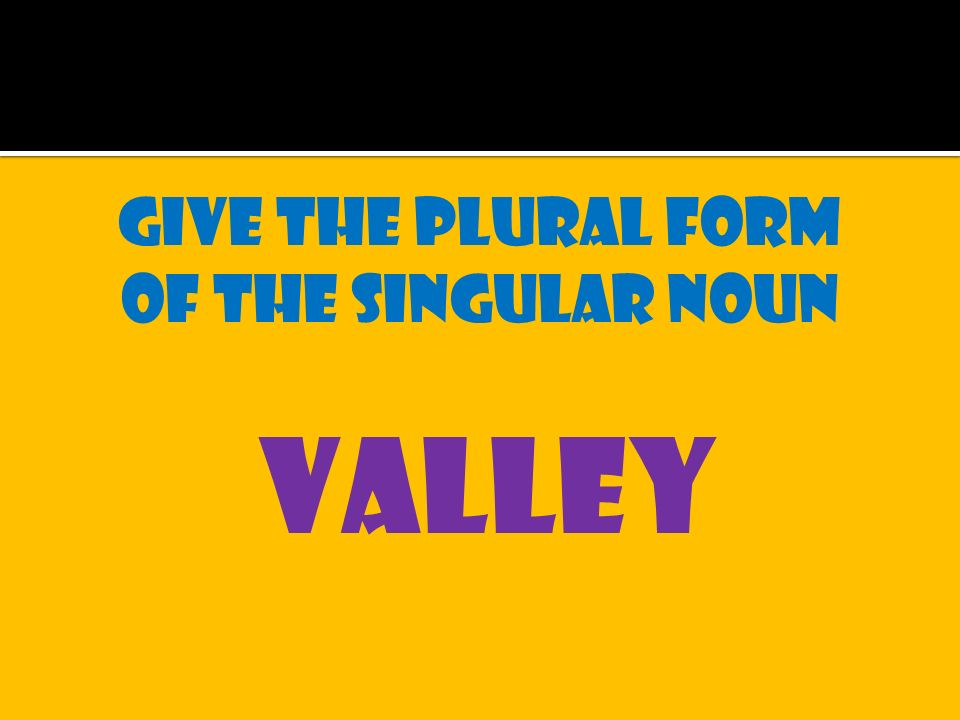Roof Plural Form & Only 9 Of English Teachers Know The Plural ...