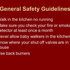 Kitchen Smoke Detector Blinds For Windows Why Is Safety In The Important? - Ppt Video Online ...