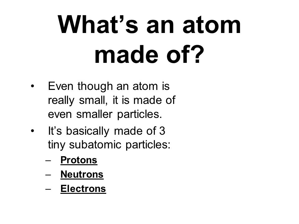 Atoms, the Periodic Table, Drawing Bohr Models & more