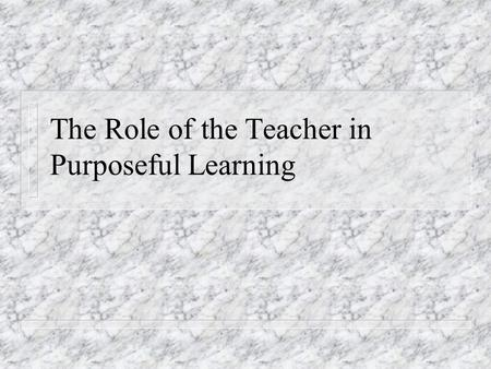 How Can Learning Experiences Be Organized For Effective
