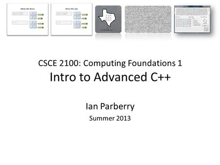 CS212 Object Oriented Analysis And Design Lecture 22