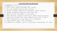 Preposition Worksheets Kindergarten Google Search ...