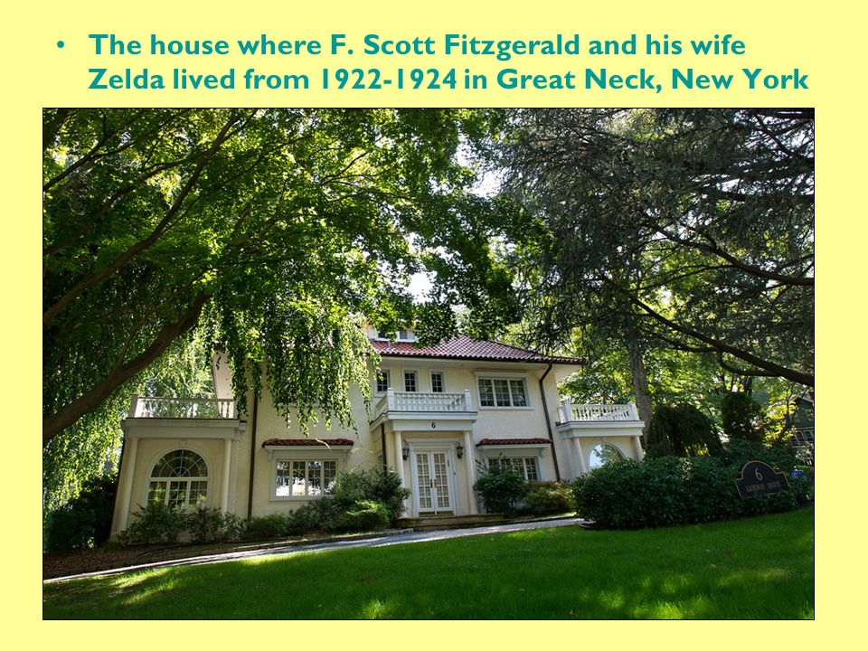 Image result for great neck ny scott fitzgerald
