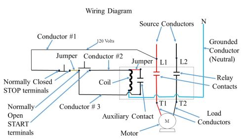 small resolution of push button station and relay ppt video online download fan relay wiring diagram 4 pin relay