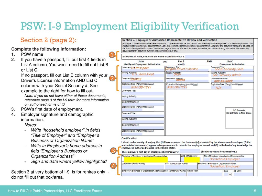Employers Individuals And Personal Support Workers Psws Transition To Oregon S New Financial